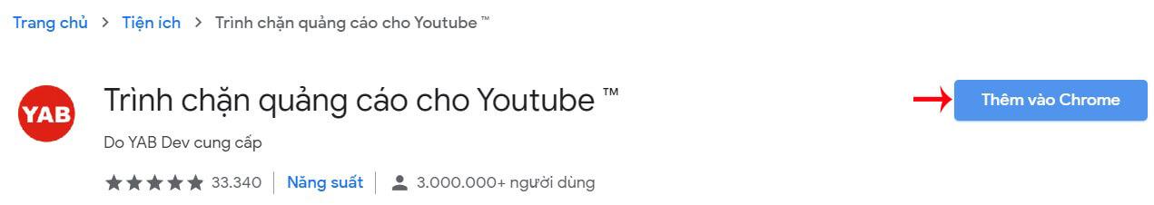 tắt quảng cáo trên youtube