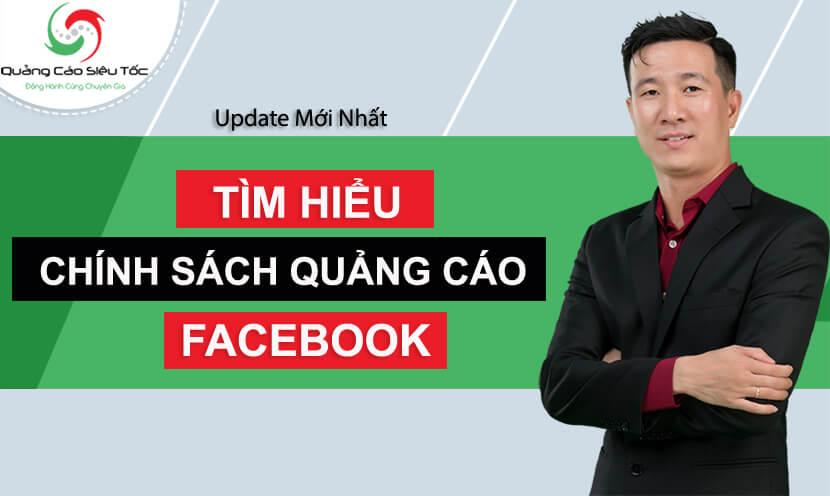chính sách quảng cáo facebook