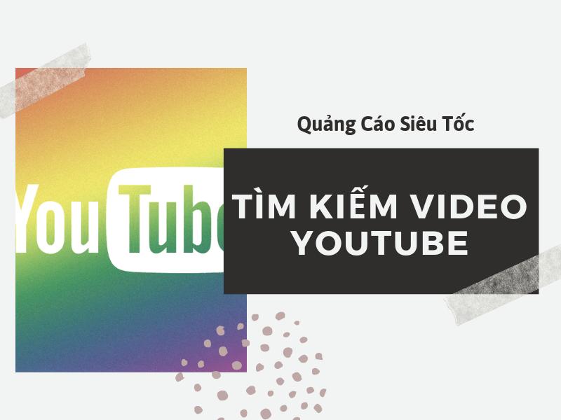 tìm kiếm video trên youtube
