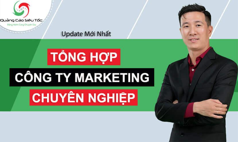 top các công ty marketing