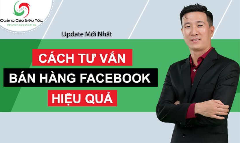 cách tư vấn bán hàng facebook hiệu quả