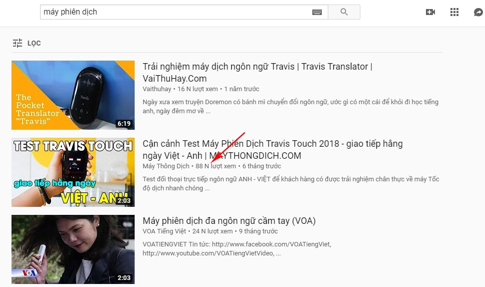 video được đề xuất youtube