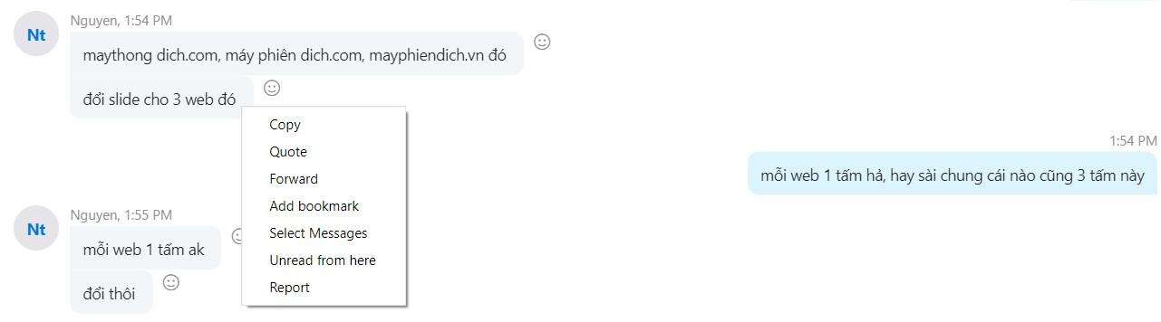 xóa tin nhắn trên skype của 1 người