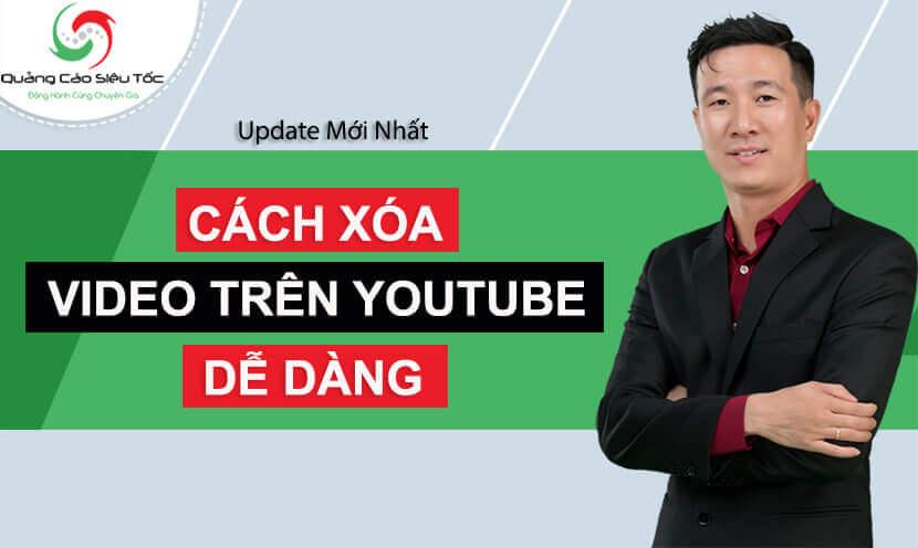 Cách xóa video trên Youtube dành cho phiên bản Youtube 2020