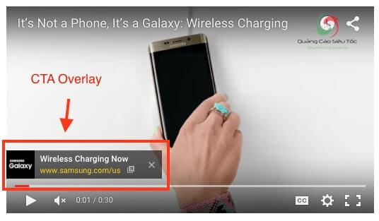 Văn bản xuất hiện trong quảng cáo Youtube rất hạn chế