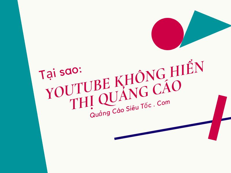 youtube hiển thị quảng cáo