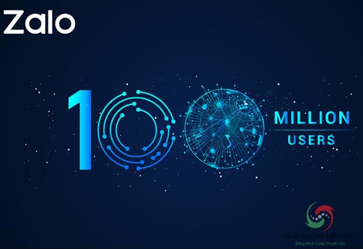 Zalo đã cán mốc 100 triệu người dùng trong năm 2018