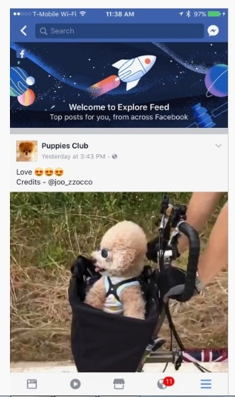News Feed Mới Của Facebook (Explore) Là Gì?