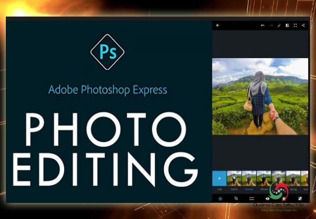 App chỉnh sửa ảnh Adobe Photoshop Express