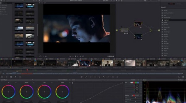 App chỉnh sửa video Davinci Resolve
