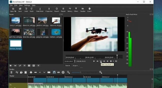 App chỉnh sửa video Shotcut