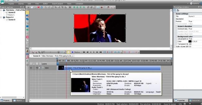 App chỉnh sửa video VSDC