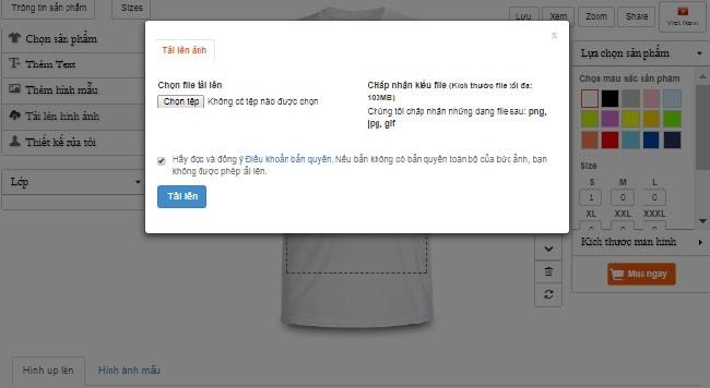 app thiết kế áo thun cách tải hình ảnh