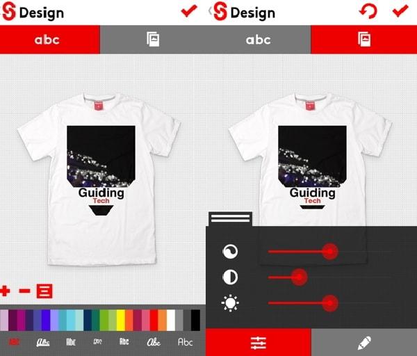 App thiết kế áo thun thời trang Snaptee được sử dụng phổ biến