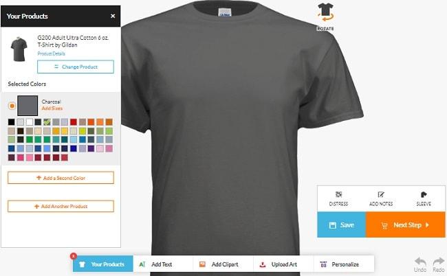 App thiết kế áo thun chuyên nghiệp hướng dẫn sử dụng