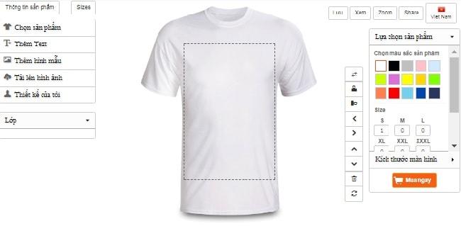 app thiết kế áo thun đơn giản