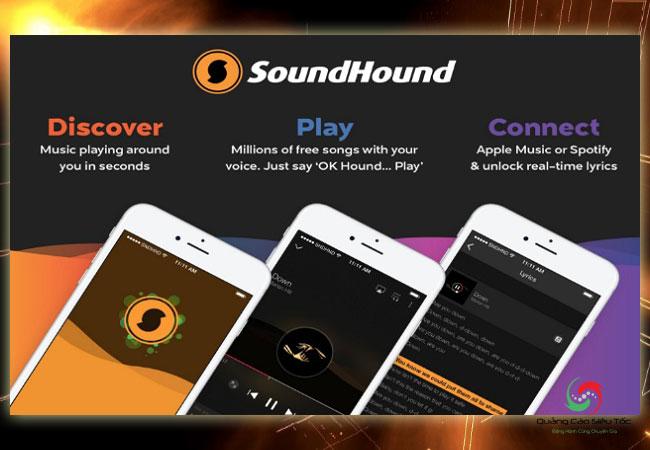 App tìm nhạc SoundHound