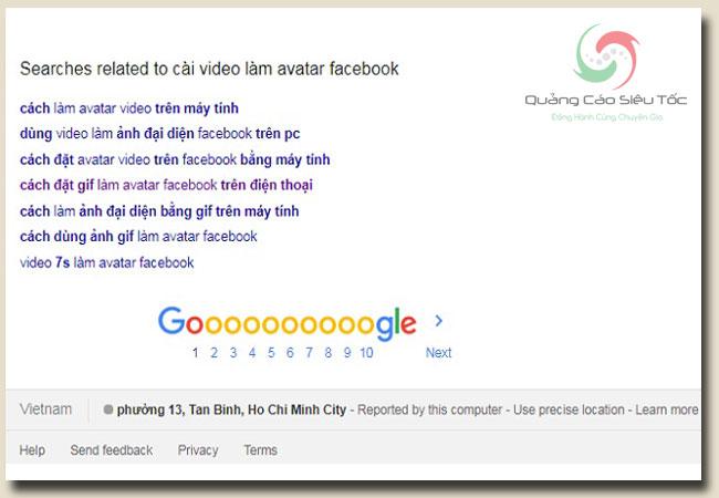 Cài Avatar Video Facebook hoàn toàn khác với tải lên ảnh GIF