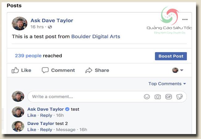 Cài Avatar Video Facebook chỉ có thể hiển thị trên profile