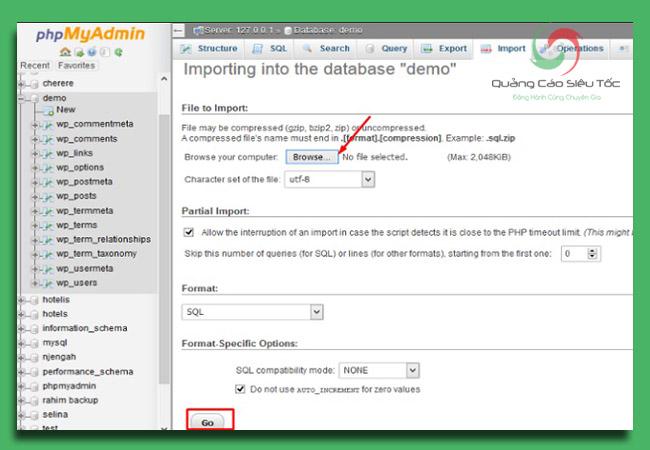 cách backup wordpress và restore dữ liệu