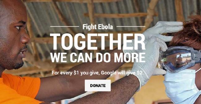 Bài Pr mẫu của Google chống lại Ebola