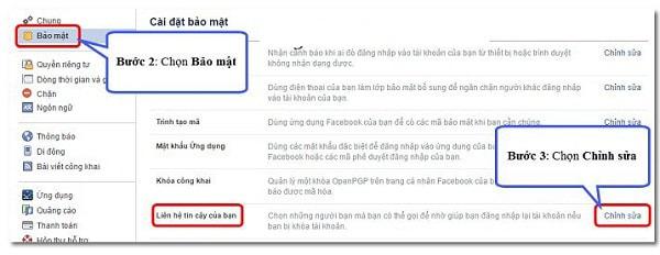 Cách Bảo Mật Tài Khoản Facebook