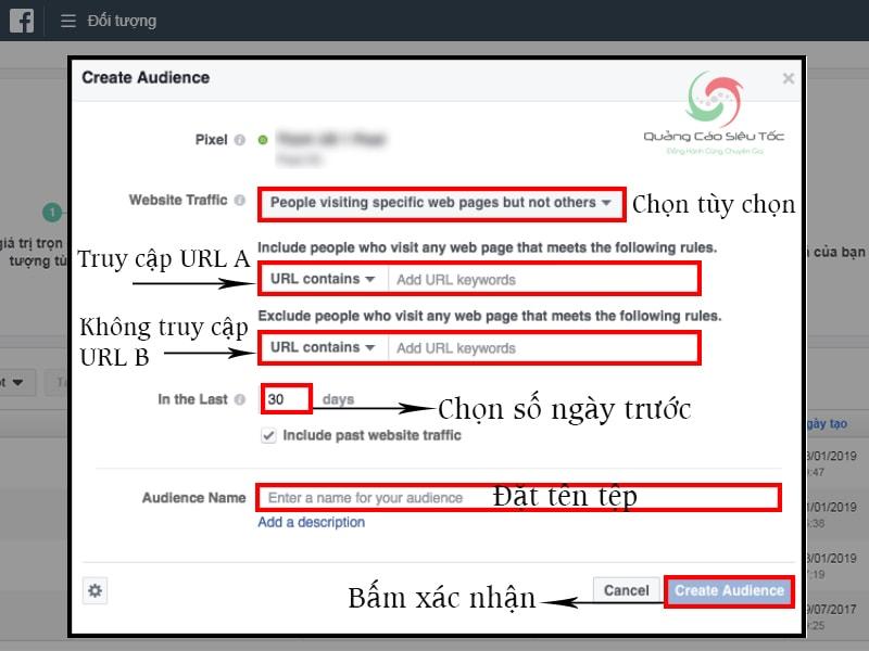 Các bước tạo đối tượng truy cập trang A nhưng không truy cập trang B