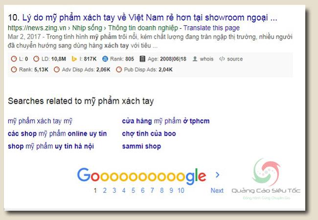 cách chọn tên miền theo gợi ý của Google