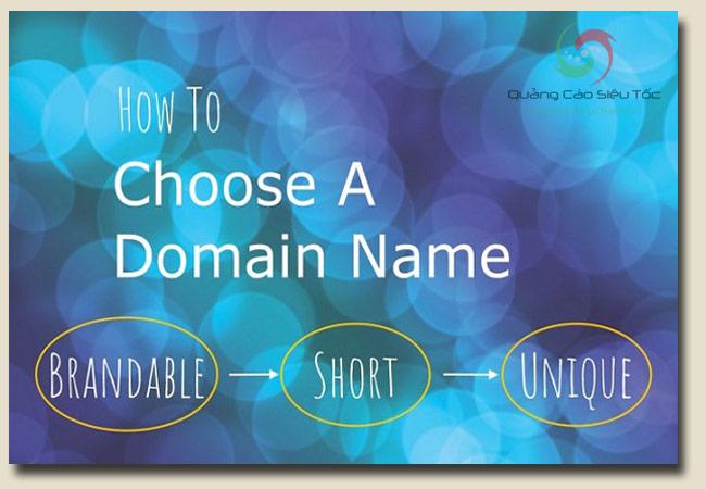 cách chọn tên miền đẹp cho website