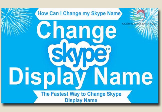 cách đổi tên skype đơn giản nhất