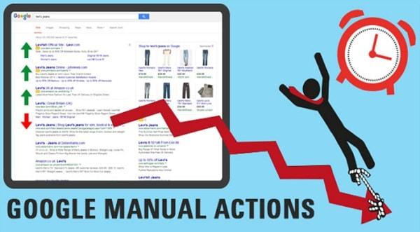 Cách Gỡ Án Phạt Tác Vụ Thủ Công Google