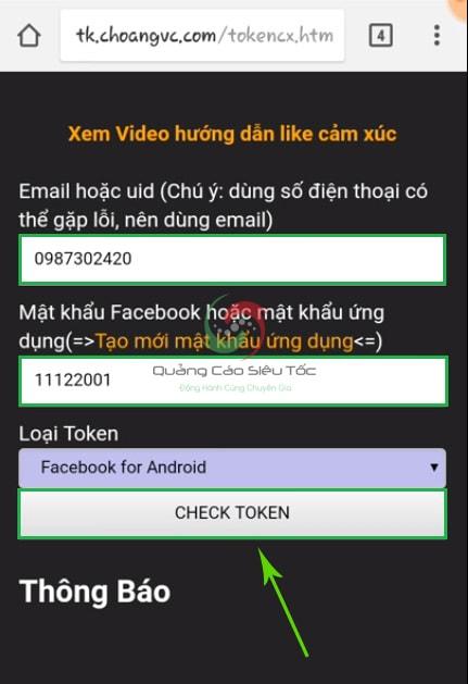 cách hack like facebook trên điện thoại android