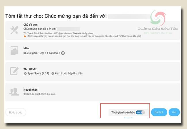 Cách kiếm tiền với getresponse - đảm bảo email bán hàng không rơi vào mục spam