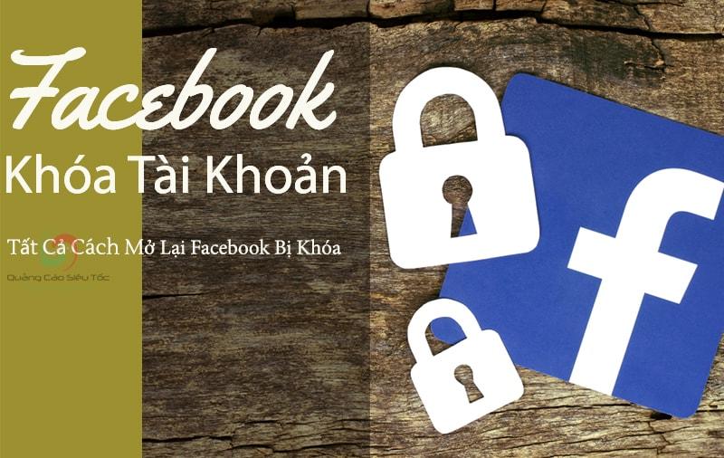 Cách mở khóa tài khoản Facebook bị vô hiệu hóa