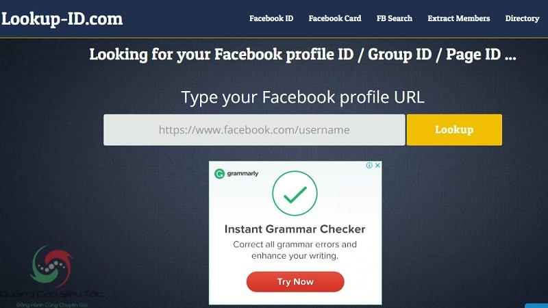 Cách lấy uid người dùng Facebook