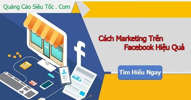 Cách marketing online Facebook