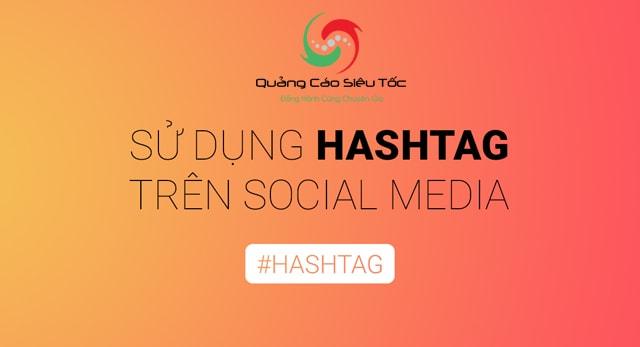 Cách sử dụng hashtag