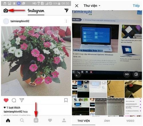 hướng dẫn sử dụng instagram