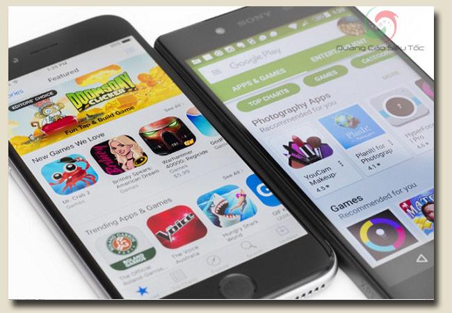 cách tải facebook trên hệ điều hành Android và iOS