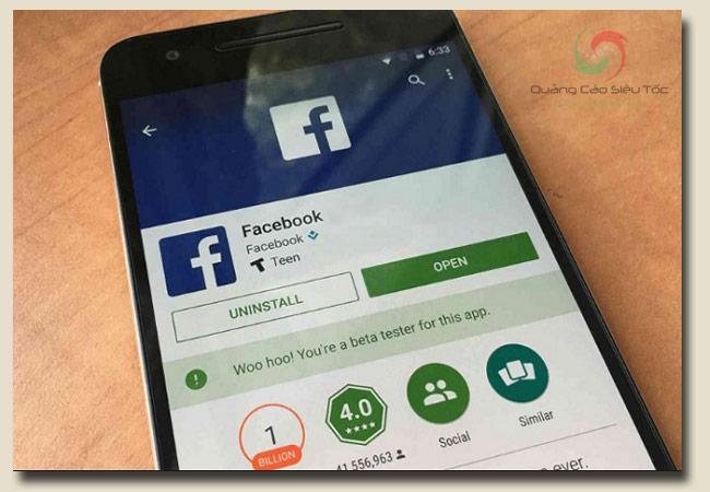 cách tải facebook chỉ trong 1 phút