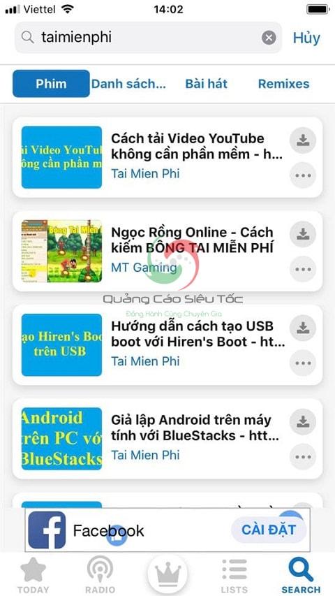 tải nhạc trên youtube về điện thoại