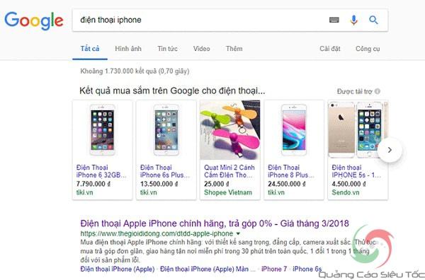 Tạo Chiến Dịch Quảng Cáo Google Shopping