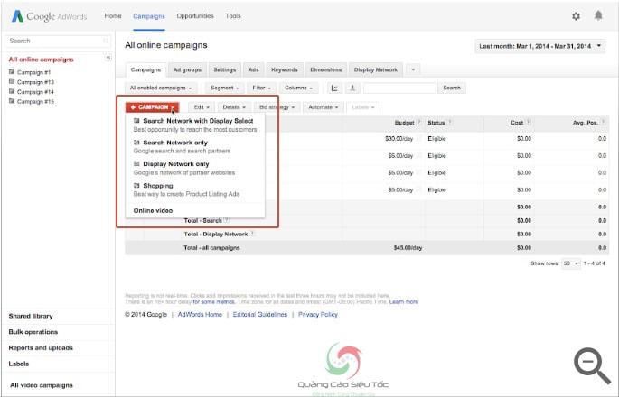 Hướng dẫn cách tạo quảng cáo Google Shopping