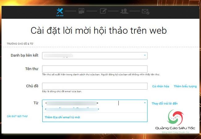 Cách tạo webinar trên getresponse theo từng bước căn bản