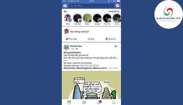 Cách xếp hạng bình luận Facebook trên di động