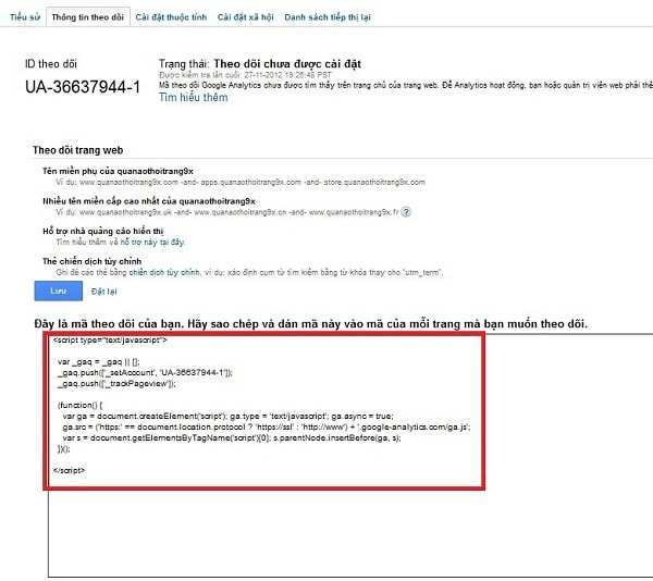 Hướng Dẫn Cách Cài Đặt Google Analytics Nhanh Nhất