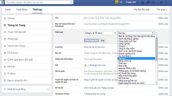 Cải Thiện Thứ Hạng Trang Fanpage Facebook