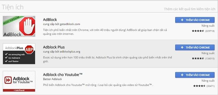 hướng dẫn chặn quảng cáo trên youtube