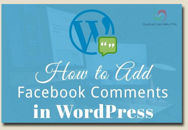 chèn comment facebook vào wordpress đơn giản nhất