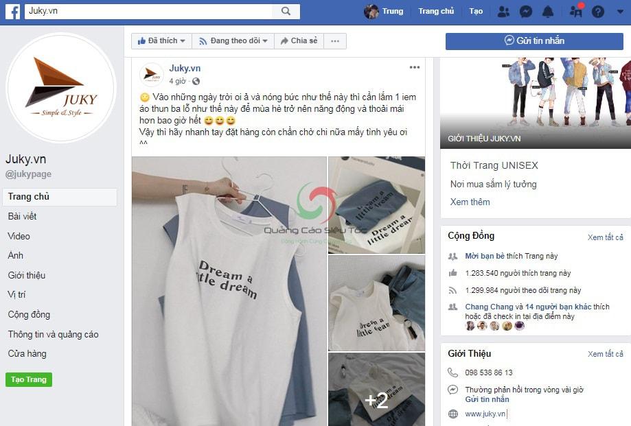 chiến lược quảng cáo facebook